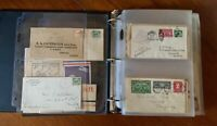 1918-1934 US Airmail Cover Collection Lot - Curtiss Jenny, Lindbergh, Roessler +