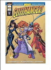 Cliffhanger! Wizard Sketchbook J Scott Campbell Danger Girl preview 1997