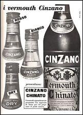 VERMOUTH CINZANO BOTTIGLIE TIPI ROSSO BIANCO DRY CHINATO NICO EDEL 1956