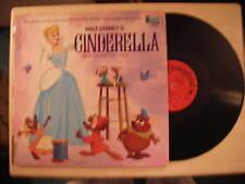 Walt Disney's Story & Songs CINDERELLA LP 1969