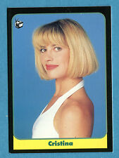 LE BELLISSIME -Masters Cards 1993 -n. 112 - CRISTINA - TELEVISIONE -New