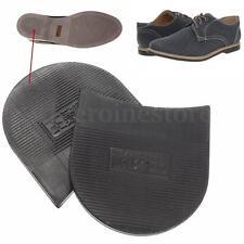 1 Pair Mens Soltrack DIY Stick On Heels Shoe Repair Anti-Slip Rubber Grip Black