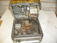 OLD ANTIQUE GRAY AUDOGRAPH DICTATING MACHINE MODEL BID-5 DICTATOR - TUBE UNIT