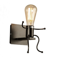 Vintage Industrial Robot Wall Lights Sconce Lamp Light Fittings For Kid's room