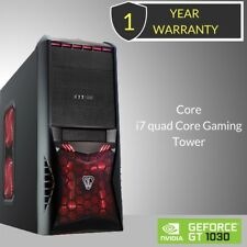 Windows 10 Core i7 Quad Core Gaming Tower PC - 8GB DDR3 - 2000GB HDD-HDMI_