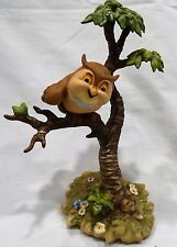 "WDCC Bambi's Friend Owl ""What's Going On Around Here?"" w/ Box and COA"