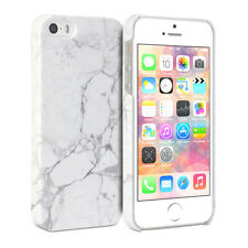 iPhone 5 / iPhone 5s Case - GMYLE  Snap Cover Glossy White Marble II Pattern