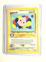IGGLYBUFF - Neo Discovery Set - 40/75 - Uncommon - Pokemon Card - Unlimited - NM
