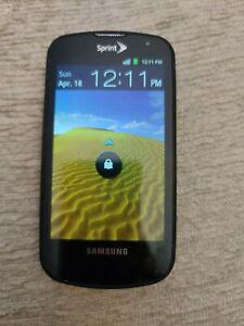 Samsung Epic SPH-D700 - 1GB - Black (Sprint) Smartphone .
