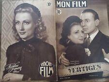 """MON FILM 1948 N 94 """" VERTIGES"""" avec RAYMOND ROULEAU et MICHELINE FRANCEY."""