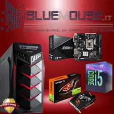 PC GAMING H310CM INTEL CORE I5 9400 COFFELAKE GT 1030 2GB NVIDIA 1TB 8GB RAM