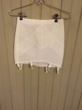 New without tags Vintage Sears size 28 open bottom girdle w/ 6 garters & zipper