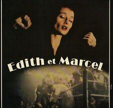 BO FILM OST EDITH ET MARCEL AZNAVOUR LAI PIAF MAMA BEA LP33T PORT A PRIX COUTANT