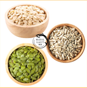 Pampkin seed ,Sunflower seed, Melon seed 250gr cookies mix