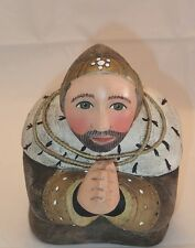 Leo Smith Kneeling King from Holy Family Nativity Set  Excellent Condition