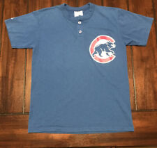 MLB Baseball Chicago Cubs Majestic Shirt Youth Large L