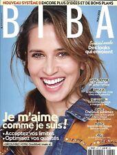 BIBA n°457 mars 2018  Je m'aime comme je suis!/ Sandrine Kiberlain/ Mode pop
