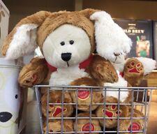 """ 2018 Year Of The Dog "" Starbucks Coffee Cute Dog Bearista Bear Limited Edition"