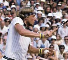 80s Retro Tennis Armbänder/Schweißbänder Play-Loose-Fila-Kostüm -