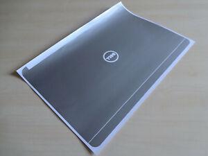 """Dell Latitude E7240 12.5"""" Original Silver Laptop Lid Sticker Skin Decal Cover"""