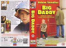 Big Daddy, Adam Sandler Video Promo Sample Sleeve/Cover #10191