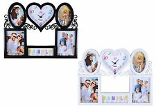 5 Multi-Aperture Picture Collage Wall decor Photo frame & Wall Clock, Ideal Gift