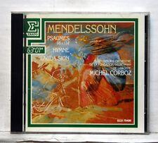 MICHEL CORBOZ - MENDELSSOHN Psaumes 98 & 114, Hymne ERATO CD NM
