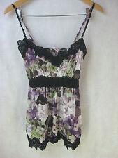 Size 8 silk designer ALANNAH HILL DESIGNER sleeveless summer top