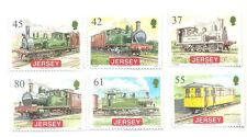 Jersey Railways Trains 2009 set mnh-Steam railways