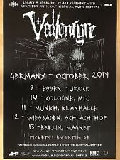 Vallenfyre 2014 Tour ORIG. Concert-concerto-Tour-POSTER - MANIFESTO DIN a1