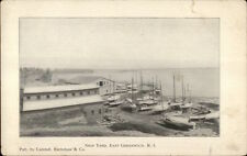 East Greenwich RI Ship Yard c1910 Postcard