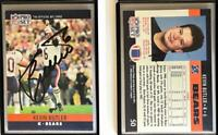 Kevin Butler Signed 1990 Pro Set #50 Card Chicago Bears Auto Autograph