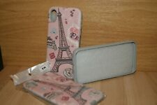 iPhone XR TPU Case Bling Paris Glitters Pink 3D Combination Color