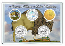 2005 BUFFALO BISON U.S. MINT NICKEL COLLECTION * SPECIAL EDITION * w/DISPLAY