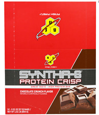 NEW BSN SYNTHA-6 PROTEIN CRISP HIGH PROTEIN BAR DAILY BODY CARE SUPPORT HEALTHY