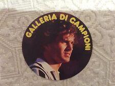 ANTONIO CABRINI JUVENTUS ATALANTA CREMONESE CALCIO - ADESIVO GALLERIA CAMPIONI