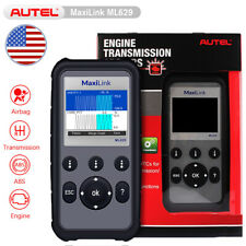 Autel ML629 Check Engine ABS SRS Transmission Light Auto OBD2 Diagnostic Scanner