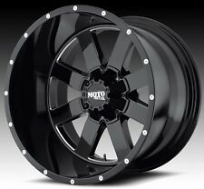 Moto Metal 962 18x10 Gloss Black Wheels Ford Chevy Dodge Jeep