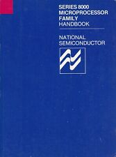 SERIES 8000 MICROPROCESSOR FAMILY HAND BOOK. 1978 (National Semiconductor)