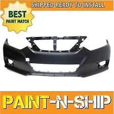 Fits: 2016 2017 Nissan Altima Sedan w/Snsr Hole Front Bumper Painted NI1000312