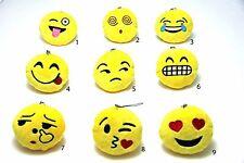 Emoji Emoticon Smiley Anhänger Schlüssel Auto Kissen Plüsch Stofftier Kette 8cm