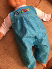 "Baby Doll Clothes T-shirt Shirt w/ Romper Jumpsuit Fits 15"" Bitty Baby Twins NEW"