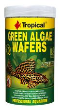 Pleco Fish Food Green Algae Wafersn By Tropical for Panaque Loricariidae 250ml