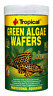 Pleco Fish Food Green Algae Wafersn By Tropical for Panaque Loricariidae 250ml