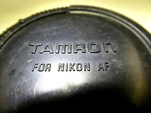 Rear Lens Cap Tamron for Nikon AF 12-24mm 17-50mm - Worldwide