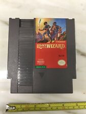 Nintendo NES Legacy Of The Wizard Video Game Cartridge, Circa 1990
