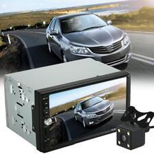 "2 Din 7"" In Dash Car Stereo Radio MP5 MP3 Player Bluetooth FM Touchscreen+Camera"