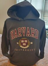 Harvard University Hoodie Sweatshirt Char Grey NEW all adult sizes - pre-shrunk
