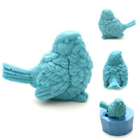 3D Lovely Bird Soap Mold Silicone Mold Soap Mould Candle Mold Resin Mold