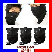 Masque coupe-vent hiver echarpe cagoule ski snowboard moto airsoft paintball FR